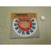 Antiguos Viewmaster Virginia The Old Dominion State Discos
