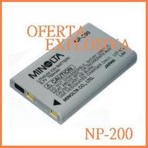 Bateria Recargable Np-200 P/camara Konica Minolta Dimage Xg