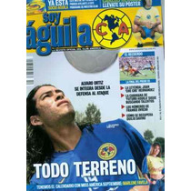 Revista Futbol Soy Aguila Club America Antigua