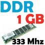Memoria Ram 1 Gb, Ddr 333 Mhz Pc-2700 Para Pc Garantizadas