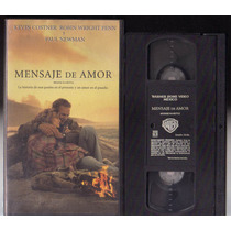 Pelicula Vhs Mensaje De Amor (message In A Bottle)
