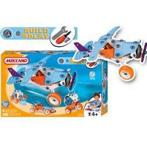 Meccano Build & Paly Plane 5 Modelos En Liquidacion