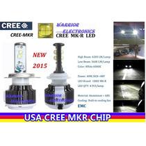 Foco Bulbo Led Cree Mkr 7200lm Potencia H8 H9 H11 9005 9006