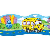 Cenefas Multiusos Autobus Escolar 7x99 Cm 11 Piezas 3+ Trend