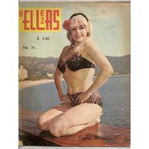 Jayne Mansfield En Reseña Acapulco México Revista De 1966