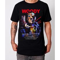 Playera Camiseta Woodynaitor Toy Story + Terminator Jinx!!
