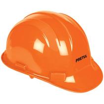 Casco De Seguridad Color Naranja Pretul