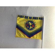 Bandera Para Coche Aguilas Del America Club Futbol