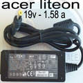 Adaptador Cargador Laptop Mini Acer One 19v 1.58a Aspire