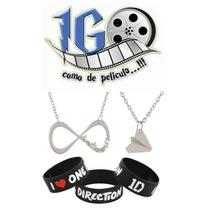 Pkt One Direction Avión Infinito Pulsera Igo Envio Gratis!