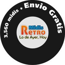 Midis De Antaño Solo Lo Mejor Y Lo Mas Viejito De 80s Nvd