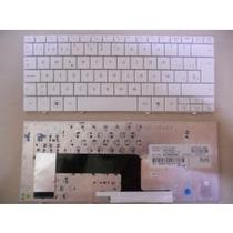 Teclado Hp Mini 110 Blanco Y Rosa Nuevo 533549-161 Español
