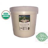 Aceite Coco Comestible Orgánico Exvirgen Prensado N Frío 4lt