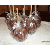 Deliciosas Paletas D Manzana Cubiertas De Chamoy O Tamarindo