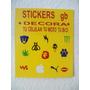 Stickers Exhibidor,1con 100pz.$150.00