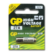 5 Pilas 27a Marca Gp 12v Control Remoto Puertas Automáticas
