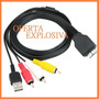 Cable Usb Audio/video Vmc-md2 P/camara Sony Dsc-w210 W220