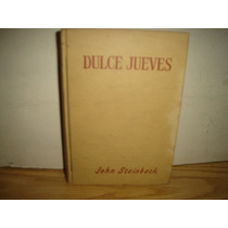 Libro - Dulce Jueves - John Steinbeck - 1955