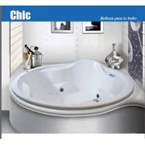 Maa Tina De Hidromasaje Baño Chic, Bañera Formacryl