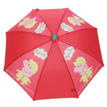 Peppa Pig Paraguas - Niños Childrens School Stay Dry