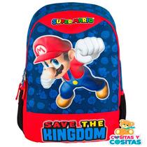Mochila Chenson Mario Bros Original Nueva