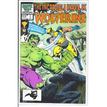 Incredible Hulk Vs. Wolverine #1 1st Appearance 1986 Vv4