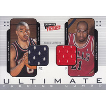 2000-01 Ultimate Victory Jerseys Kenyon Martin Marcus Fizer