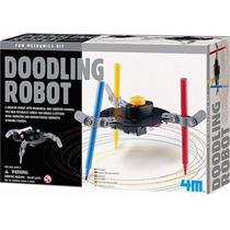4m Doodling Robot Dibuja Garabatos Elect Cientifico P/ Armar