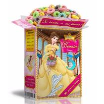 Mega Kit Imprimible Princesa Bella En Powerpoint Editable