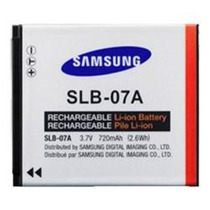 Bateria Li-on 3.7v Remplazo Slb-07a Camaras Samsung Tl225