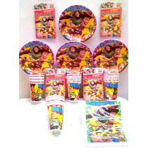 Paquete Básico Toy Story, Desechables Para Fiesta