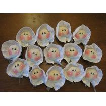 Docena Distintivos Para Baby Shower O Recuerdos De Bautizo