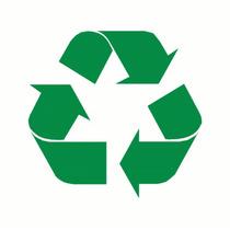 Sticker Vinil Autoadherible Recicla Reciclado Recycle Rotulo