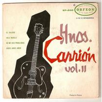 Hermanos Carrion Ep Vol 2 Rock Mexicano