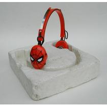 Vintage Audifonos Spider-man Hombre Araña De Coleccion