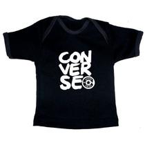 Ropa De Bebe Alternativa - Playeras Negras Rockeras