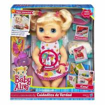 Muñeca Baby Alive Cuidados De Verdad