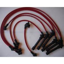 Cables Para Bujías Garlo Race 8.5 Mm, Honda 6 Cil Accord