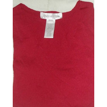 Jones New York, Blusa Roja S Envio Gratis