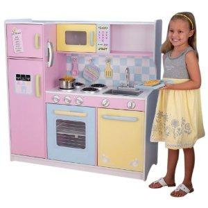 Juegos De Niñas De Cocina   Cocinita Kidkraft Grande Juguete Juego Cocina Chef Ninas Pm0