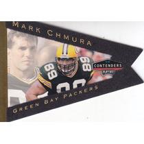 1998 Contenders Gold Pennant Felt Mark Chmura 87/98