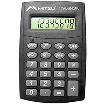 Calculadora Digital Musical 8 Digitos Color Negro