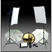 Estudio Fotografico Completo + Portafondos + Fondos