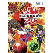 Bakugan Battle Brawlers Wii Nuevo Sellado Original Bfn