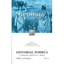 Odisea, La - Homero / Porrua