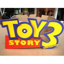 Cajita De Madera De Toy Story Para Centro De Mesa Cumpleaños