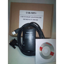 Siemens S7-300 S7-400 Cable Usb Mpi Para Plc Interface