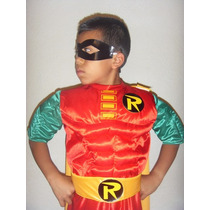 Padrisimo Traje Robin Disfraz Batman Hombre Araña Iron Man
