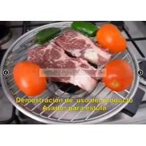 Asador Para Estufas, Carnes Y Pollo Asado, Parrilladas Hm4