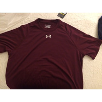 Playera Under Armour Caballero Tipo Dry Fit - Varios Colores